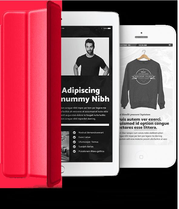 iPad Red, Webdesign und Webshop